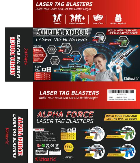 Laser Tag Blasters Build Your Team & let The Battle Begin
