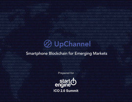 Up Channel Smartphone Block chain for Emerging Markets