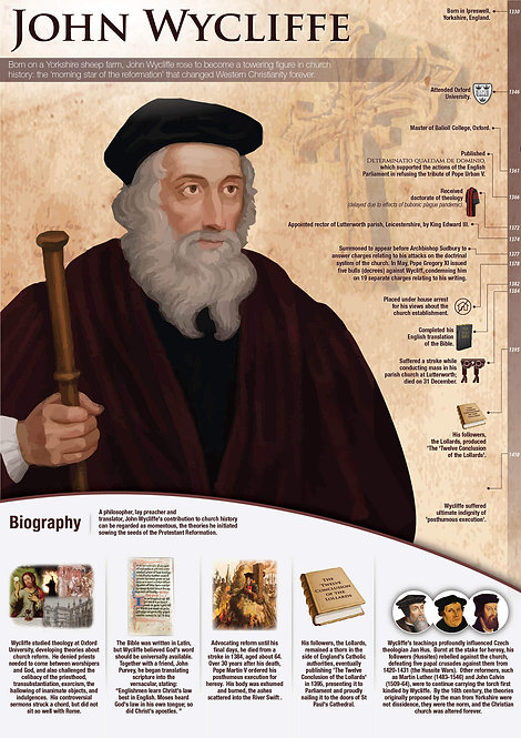 John Wycliffe Infographic