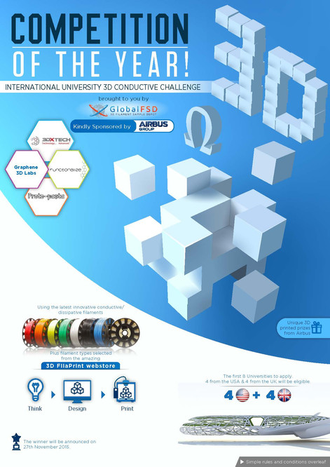 Competition of The Year International University 3D Conductive Challenge Brochures