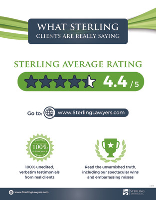 What Sterling Clients are Really Saying