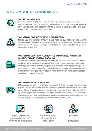Complete Guide to your Next Job Interview