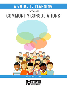 A Guide to Planning Inclusive Community Consultations