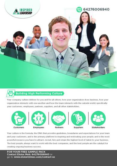 Inspired Leadership Brochures