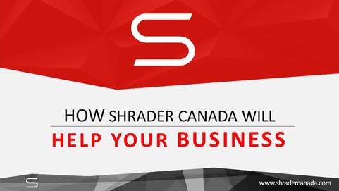 About SHRADER Company Pitch