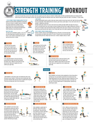 30 Minute Strength Training Workout