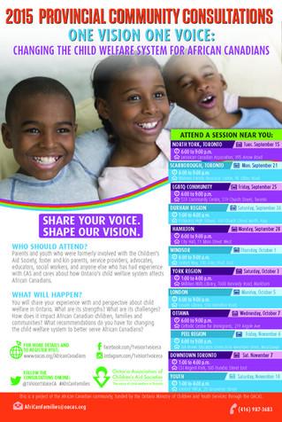 2015 Provisional Community Consultations Brochure