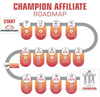 Champion Affiliate Roadmap