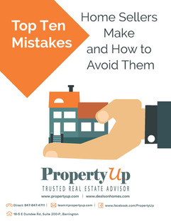 Top Ten Mistakes Home Sellers Make and How to Avoid Them