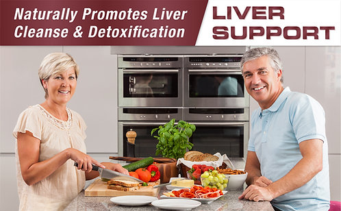 Liver Support Dietary Supplement Infographics for Amazon