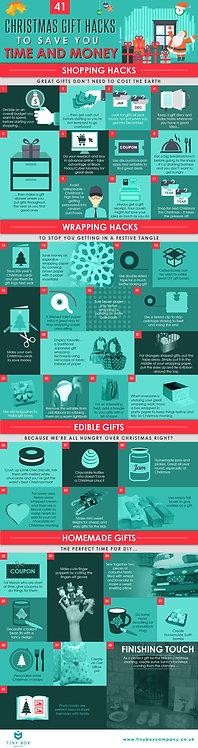 Christmas Gift Hacks Infographic