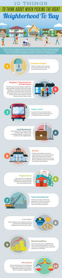 10 Things to Think About When Picking the Right Neighborhood to Buy