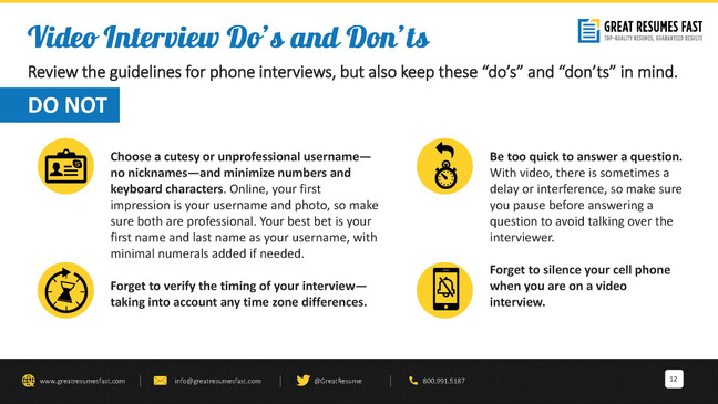 How to prepare for a video interview_Pag