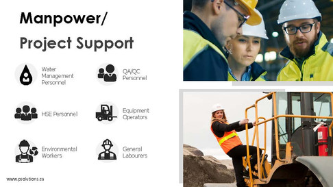 Manpower/Project support
