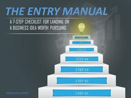 The Entry Manual Presentation