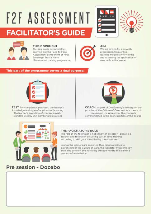 F2F Assessment Facilitator's Guide