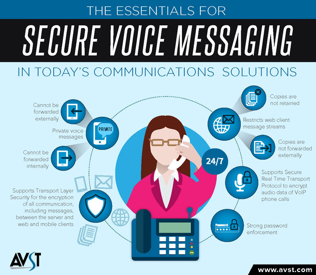 The Essentials for Secure Voice Messaging in Today's Communications Solutions Brochure
