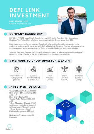 DeFi Link Investment