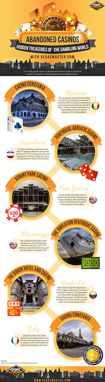 Abandoned Casinos Infographic