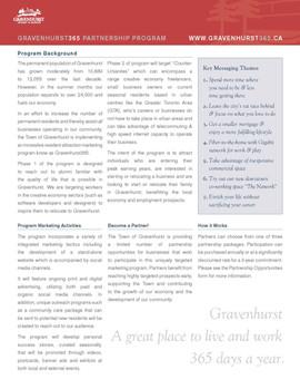 Gravenhurst 365 Partnership Program