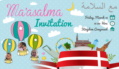 Ma'asalma Invitation