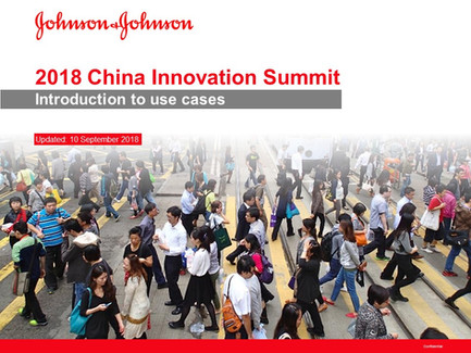 China Innovation Summit Introduction to Use Cases