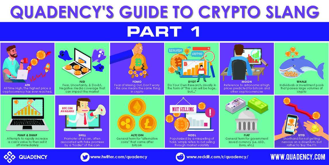 Quadency's Guide to Crypto Slang Brochures