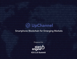Up Channel Smartphone Blockchain for Emerging Markets