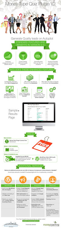 Money Type Quiz Plugin V2 Infographic