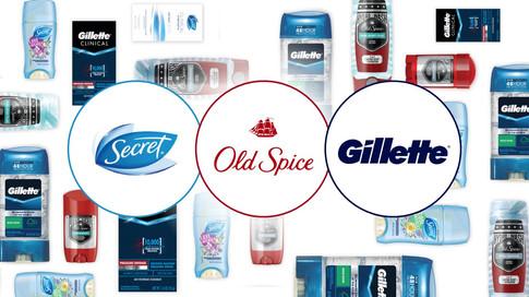Secret Old Spice Gillette Ivory Olay (1)