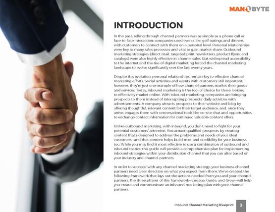 Inbound Channel Marketing Blueprint
