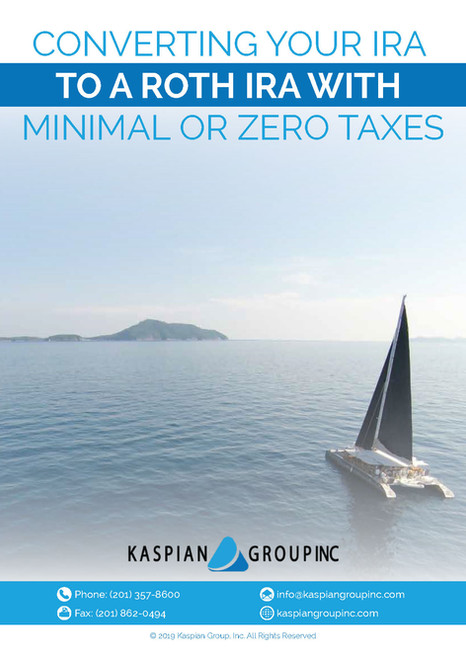Converting Your IRA to a Roth with Minimal or Zero Taxes