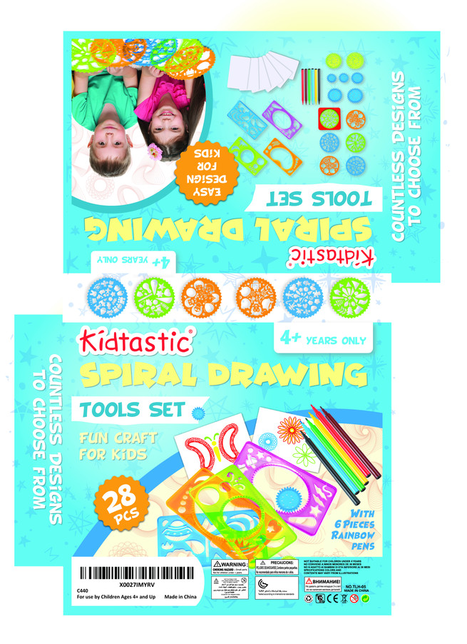 Kidtastic Spiral Drawing Tools Set - 2.j