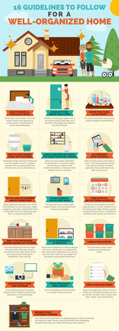 16 Guidelines to Follow For a Well-Organized Home