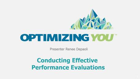 Optimizing You Prese