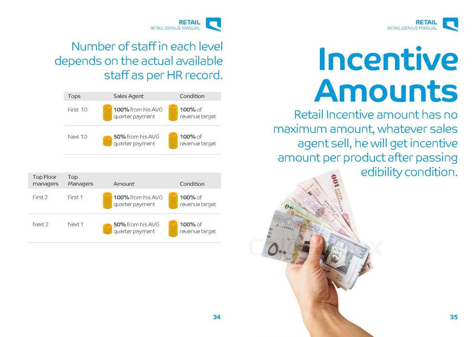 Retail Genius Manual Incentive Amounts Brochures