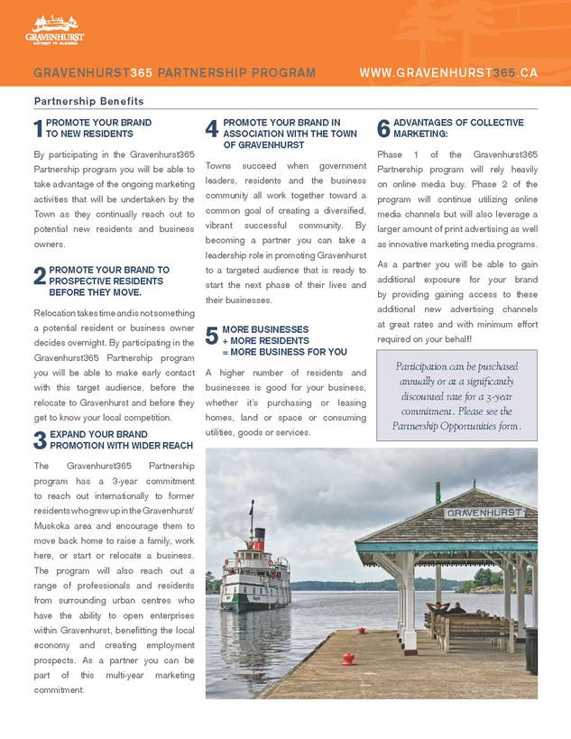 Gravenhurst 365 Partnership Program_Page 2