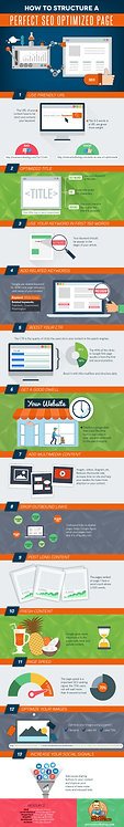 How to Structure a Perfect Seo Optimized Page Infographic