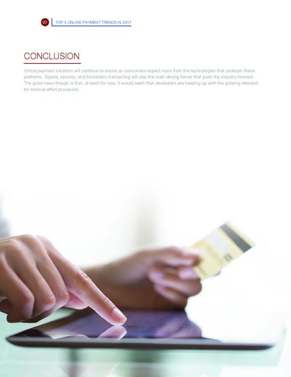 Top 5 Online Payment Trends in 2017