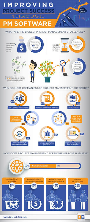 Improving Project Success through Pm Software Infographic