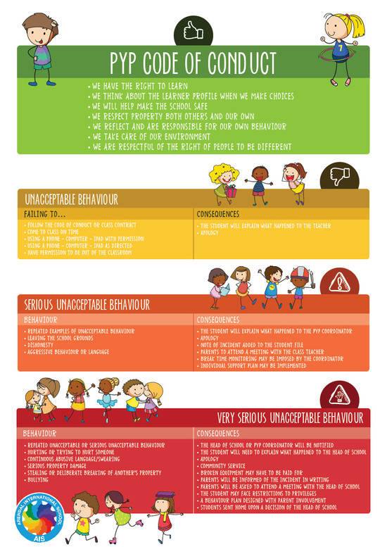 PYP Code of Conduct