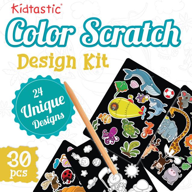 Colour Scratch Design Kit