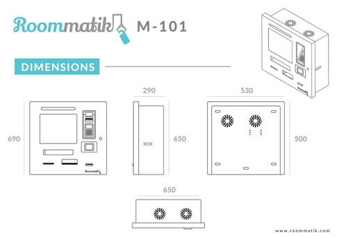 Roommatik EN_Dim-M101