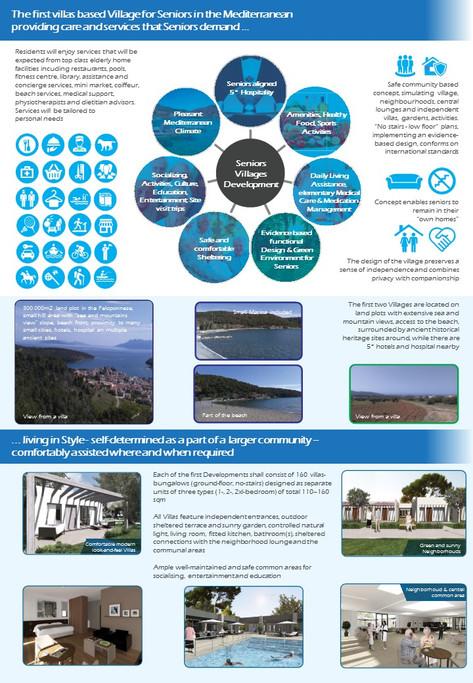Seniors Villages Development Investment Prospectus Playbook