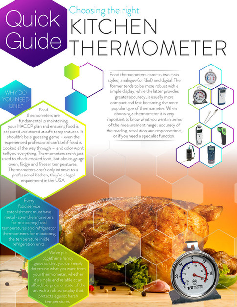 Quick Guide Choosing the Right Kitchen Thermometer Brochures