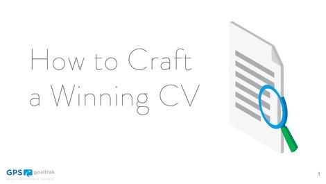 How to Craft a Winning CV