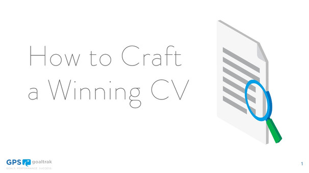 How to Craft a Winning CV