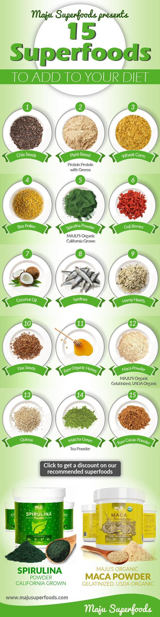 15 Super Food