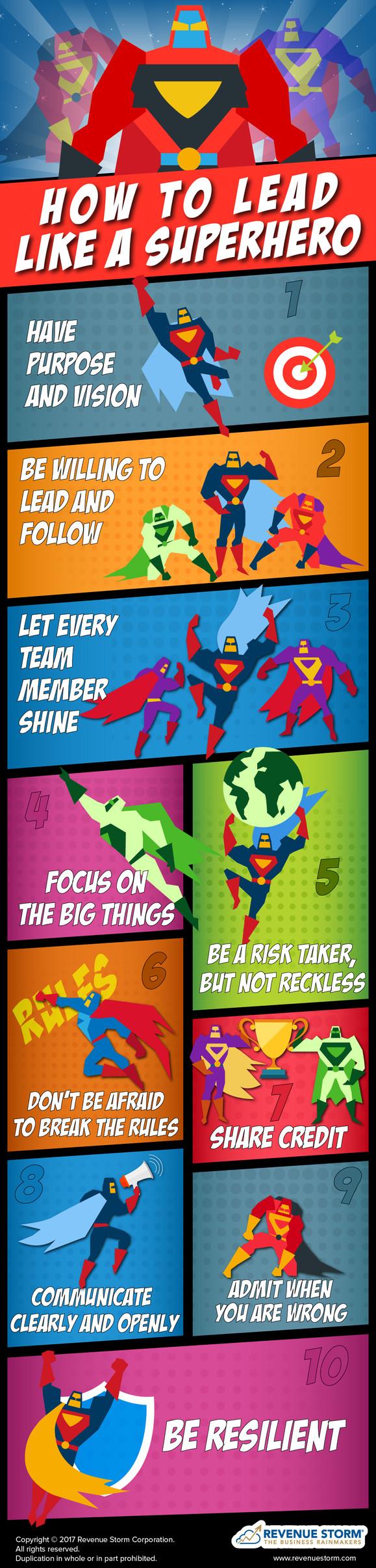 How to Lead Like a Superhero