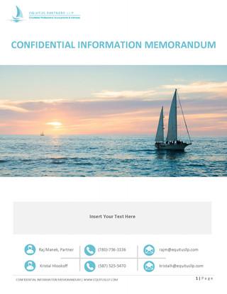 CONFIDENTIAL INFORMATION MEMORANDUM (1).